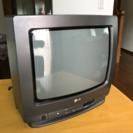 ブラウン管テレビ LG製14インチ 99年製