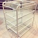 IKEA ALGOT フレーム/ワイヤーバスケット/トップシェルフ...