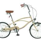 『値下げ!』ビーチクルーザー 小径車自転車 ミニベロ 20インチ ...
