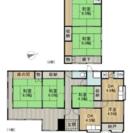 羽犬駅塚 二階建て一軒家(戸建て) 賃貸6LDK 駐車場2台  締...