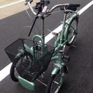 ブリヂストン 三輪 自転車 ほぼ新品 minna ミンナ 状態良好