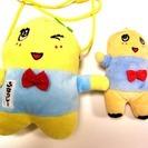 船橋市非公認 ふなっしーのお財布と人形    100円