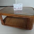 ラタンガラステーブル(2907-22)