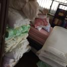 掛布団、敷布団、枕、マットレス、小さなクッション大量処分!!