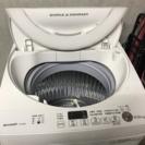 SHARP 2016年製 全自動洗濯機
