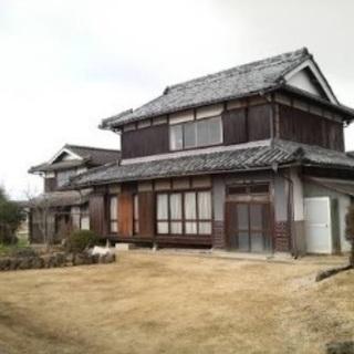 日本家屋(民家)を2日間貸して下さい。