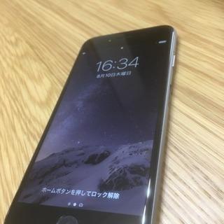 【超美品】iPhone6 au版 16GB スペースグレイ