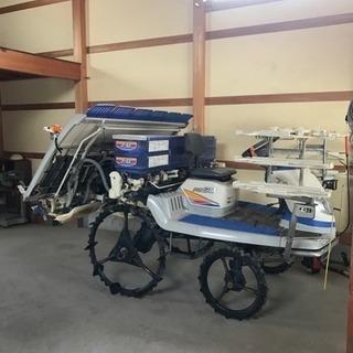 イセキPZ6条 田植え機 肥料タンク2段