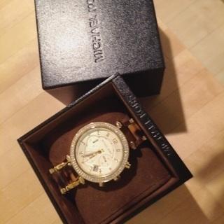 [箱付きです]MICHAEL KORS腕時計