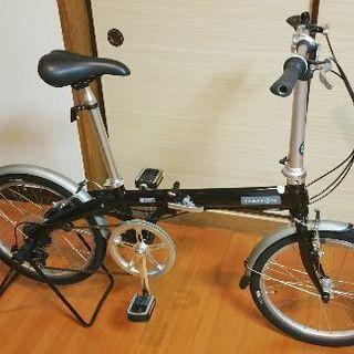 《値下げ中》DAHON(ダホン)7段変速 折り畳み自転車 Eco-...