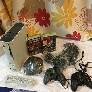 ジャンク Xbox360 本体 コントローラー リモコン ケーブル...