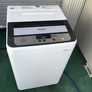 配達可 美品 パナソニック 5kg洗濯機 2013年製 NA-F50B7