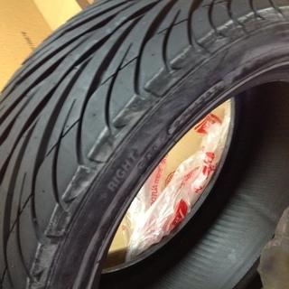 [値下げ] 215-45-17 未使用タイヤ1本