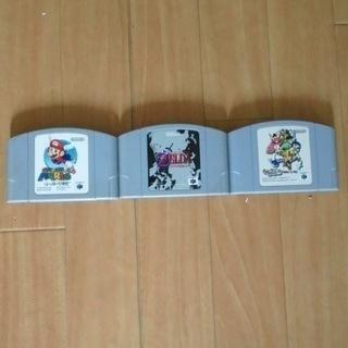 Nintendo64 シレン ゼルダ マリオ  ソフト3本セット