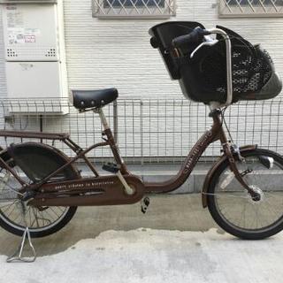 【商談中】3人乗り 自転車 後ろ子供乗せ対応( 幼児2人乗り対応 ...