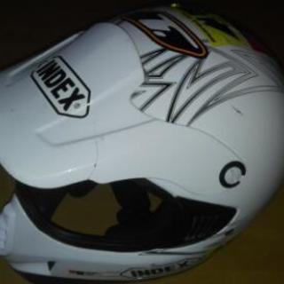 INDEX ジュニア オフロード ヘルメット