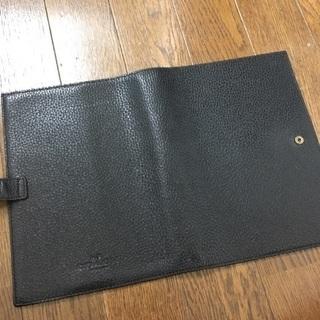 【COACH】手帳カバー ブラック