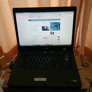 訳ありSSD搭載 DynaBook Win7 ノートパソコン