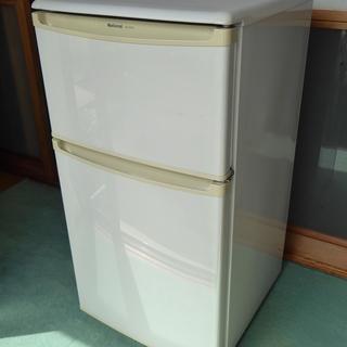 ナショナル 2ドア冷蔵庫 NR-B8T2 正常動作品 差し上げます。