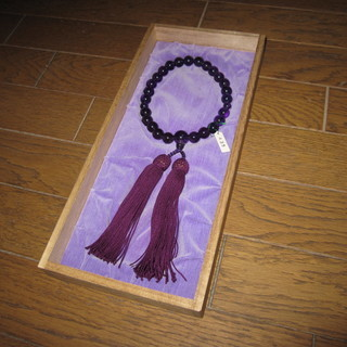 数珠(じゅず)、未使用