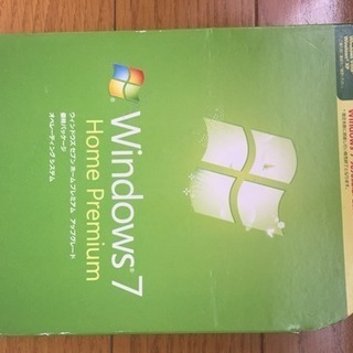 Windows7アップグレード版インストールディスク