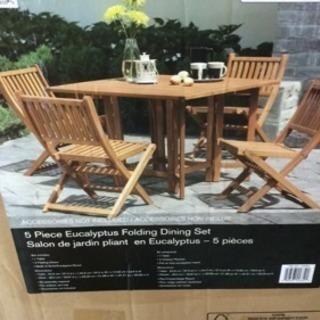 ガーデン テーブルデッキチアー