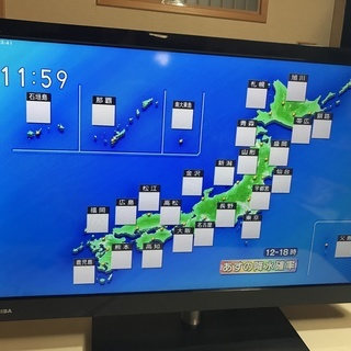 【超美品】デジタルハイビジョン液晶テレビ TOSHIBA (送料無料)
