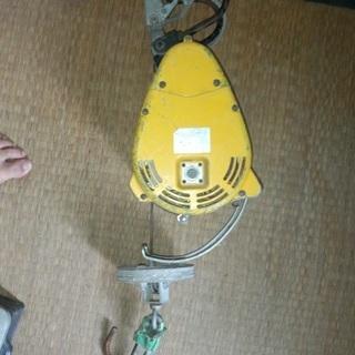 電動ウィンチ ホイスト 100V