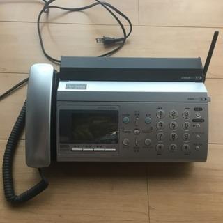 ファックス付電話