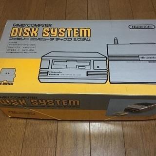 任天堂 ディスクシステム 中古品。