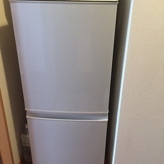 シャープ ノンフロン冷凍冷蔵庫 SJ-14K