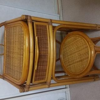 ドレッサー 鏡台 木製 引き出し付き 中古 個人
