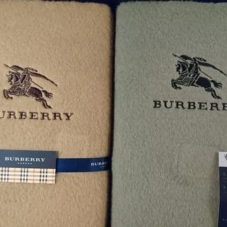 Burberry バーバリーの綿毛布セット