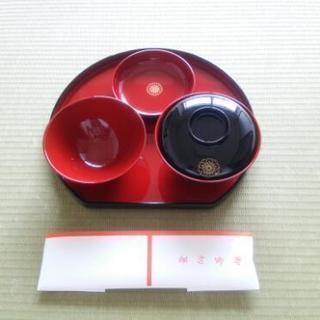 ☆未使用☆お食い初め・お箸揃え用食器 100日祝