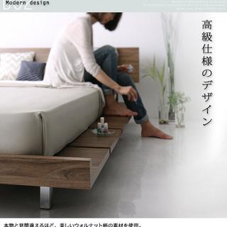 モダンデザインローベッド マスターピース キングサイズ - 家具