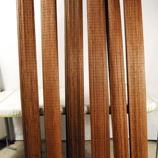 竹すだれカーテン 竹簾カーテン 200X99.3cm 6本セット