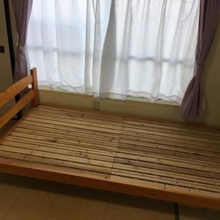 すのこベッド・シングル フレームのみ