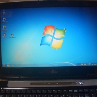 ノートパソコン Windows7  富士通 FMV- BIBLO ...