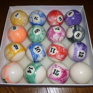 家庭用ビリヤードボール