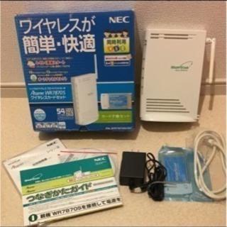 Wi-Fi 無線 ルータ NEC