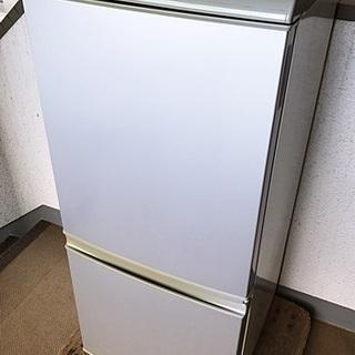 交渉中『シャープ』冷凍冷蔵庫☆135L☆岡山・倉敷・瀬戸内市近隣無料配送