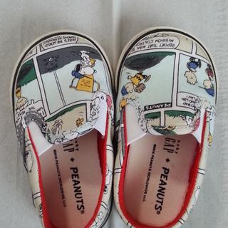 未使用靴☆12.5cm☆スヌーピー☆babyGap