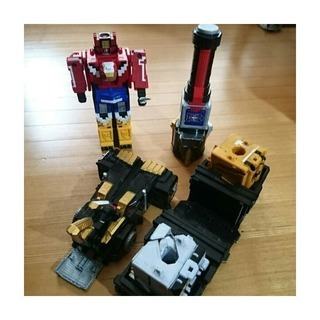 ジュウオウジャーDXロボットセット