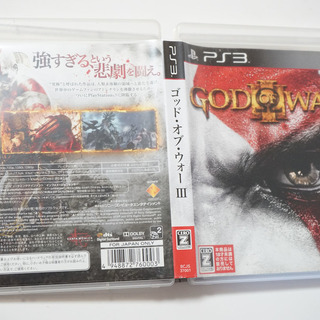 PS3 GOD OF WAR III ゴッド・オブ・ウォー3