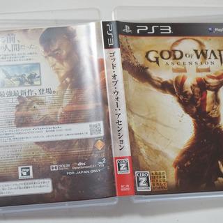 PS3 GOD OF WAR ASCENSION ゴッド・オブ・ウ...