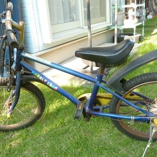 子供用18インチの自転車。