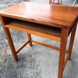多目的に使える 木製机 700×405×H700