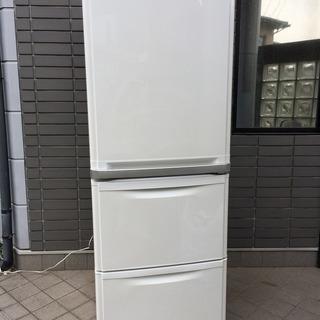 大分県 三菱 冷蔵庫 MR-CL38J 3ドア 384L 2006年製