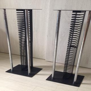 鉄製のCDタワー(CDラック)2台セット