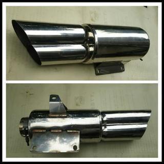 フォレツァ mf08 社外 ホットラップ製 K-SHOT マフラー...